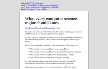 http://matt.might.net/articles/what-cs-majors-should-know/