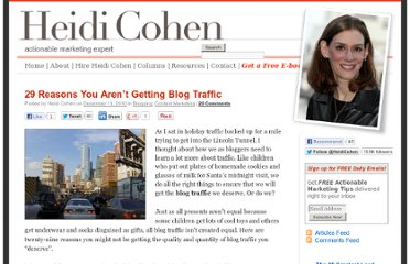 http://heidicohen.com/why-you-aren%e2%80%99t-getting-blog-traffic-2/