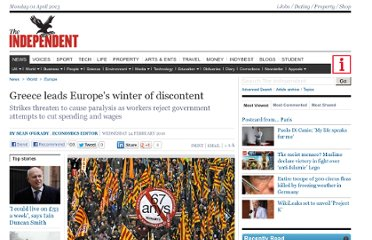 http://www.independent.co.uk/news/world/europe/greece-leads-europes-winter-of-discontent-1908527.html