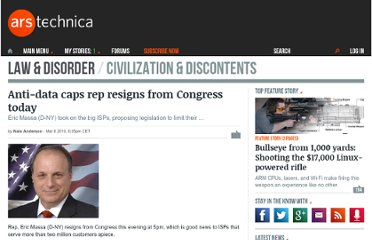 http://arstechnica.com/tech-policy/news/2010/03/anti-data-caps-rep-resigns-from-congress-today.ars