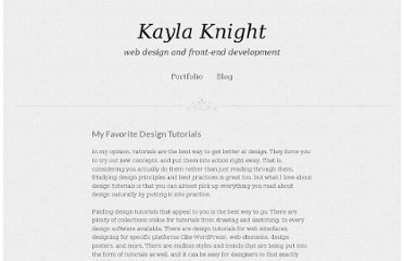 http://www.kaylaknight.com/my-favorite-design-tutorials/