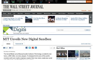 http://blogs.wsj.com/digits/2010/03/05/mit-unveils-new-digital-sandbox/