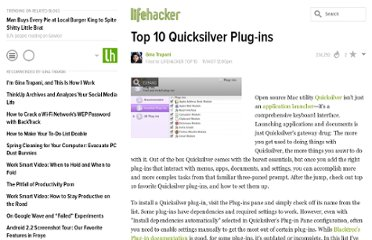 http://lifehacker.com/322363/top-10-quicksilver-plug+ins