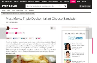 http://www.yumsugar.com/Triple-Decker-Baked-Grilled-Cheese-Sandwich-Recipe-5772269