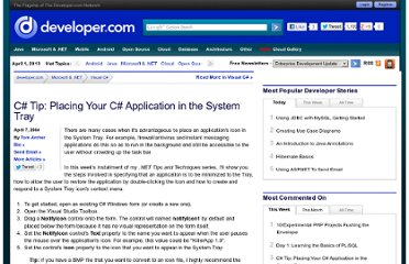 http://www.developer.com/net/net/article.php/3336751/C-Tip-Placing-Your-C-Application-in-the-System-Tray.htm
