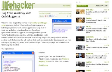 http://lifehacker.com/302932/log-your-workday-with-quicklogger-2