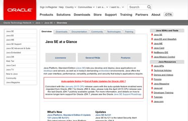 http://www.oracle.com/technetwork/java/javase/overview/index.html