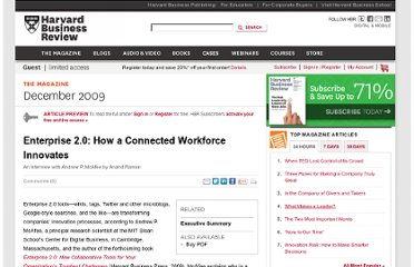 http://hbr.org/2009/12/enterprise-20-how-a-connected-workforce-innovates/ar/1