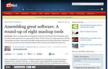 http://www.zdnet.com/blog/hinchcliffe/assembling-great-software-a-round-up-of-eight-mashup-tools/63