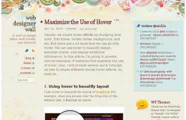 http://webdesignerwall.com/tutorials/maximize-the-use-of-hover