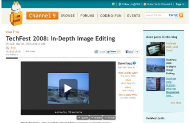 http://channel9.msdn.com/Blogs/Tina/TechFest-2008-In-Depth-Image-Editing