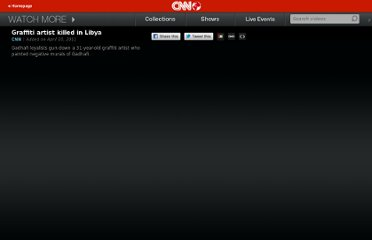 http://edition.cnn.com/video/?/video/world/2011/04/10/pkg.sayah.libyan.artist.killed.cnn