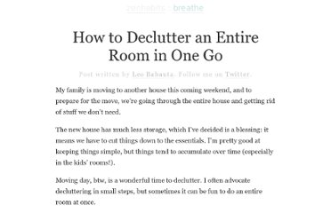 http://zenhabits.net/how-to-declutter-an-entire-room-in-one-go/