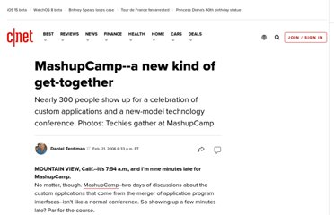 http://news.cnet.com/MashupCamp--a-new-kind-of-get-together/2100-1032_3-6041377.html?tag=nefd.lede