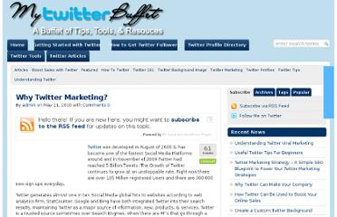 http://mytwitterbuffet.com/2010/05/11/why-twitter-marketing/