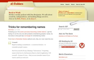 http://www.43folders.com/2006/07/10/remember-names