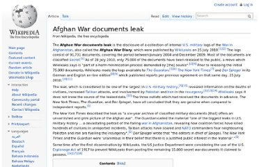 http://en.wikipedia.org/wiki/Afghan_War_documents_leak