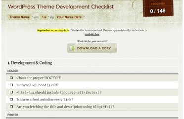 http://www.wplover.com/lab/theme-development-checklist/