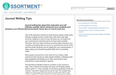 http://www.essortment.com/journal-writing-tips-34467.html