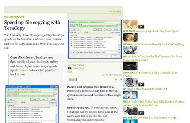 http://lifehacker.com/263492/speed-up-file-copying-with-teracopy