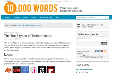 http://www.mediabistro.com/10000words/top-7-types-of-twitter-avatars_b323