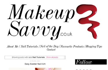 http://www.makeupsavvy.co.uk/search/label/Nail%20Tutorials