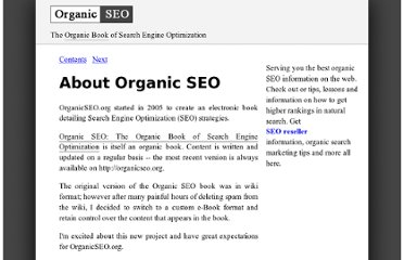http://www.organicseo.org/book/about