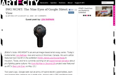 http://www.artfagcity.com/2009/08/12/img-mgmt-the-nine-eyes-of-google-street-view/