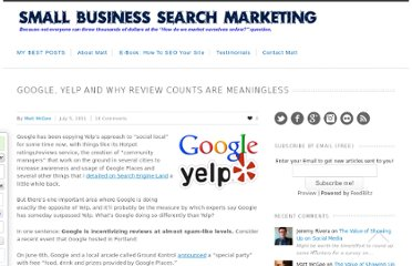 http://www.smallbusinesssem.com/google-yelp-and-why-review-counts-are-meaningless/4565/