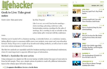 http://lifehacker.com/167307/geek-to-live--take-great-notes