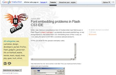 http://www.nivas.hr/blog/2007/06/06/font-embedding-problems-in-flash-cs3-ide/