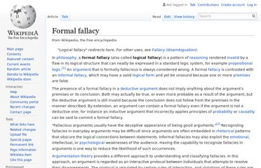 http://en.wikipedia.org/wiki/Formal_fallacy