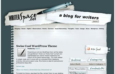http://www.writerspace.net/index.php/2007/05/12/swiss-cool-wordpress-theme/