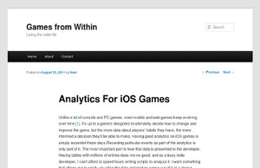 http://gamesfromwithin.com/analytics-for-ios-games
