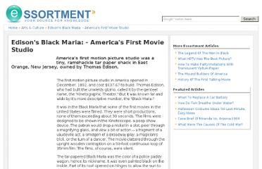 http://www.essortment.com/edisons-black-maria---americas-first-movie-studio-65511.html