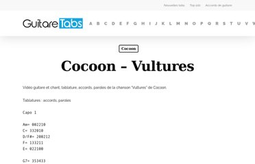 http://www.cours-guitare.net/tablature-cocoon-vultures
