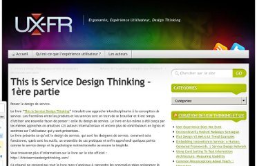 http://ux-fr.com/2011/09/12/this-is-service-design-thinking-1ere-partie/