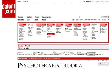 http://www.dafont.com/theme.php?cat=502&nb_ppp=50&text=Psychoterapia+%26%23347%3Brodka