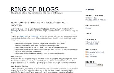 http://www.ringofblogs.com/2008/05/31/how-to-write-plugins-for-wordpress-mu-updated/