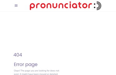 http://www.pronunciator.com/English/Italian/index.html