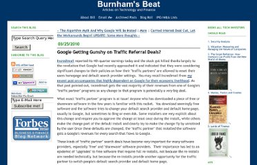 http://billburnham.blogs.com/burnhamsbeat/2010/03/google-getting-gunshy-on-traffic-referral-deals.html