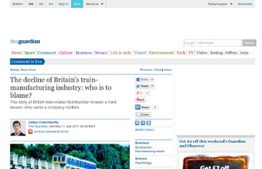 http://www.guardian.co.uk/commentisfree/2011/jul/11/decline-britains-train-manufacturing-industry