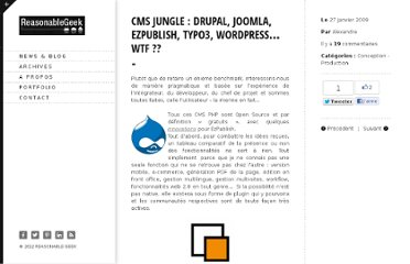 http://www.r-geek.com/2009/01/27/cms-jungle-drupal-joomla-ezpublish-typo3-wordpress%e2%80%a6-wtf/
