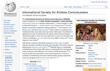 http://en.wikipedia.org/wiki/International_Society_for_Krishna_Consciousness
