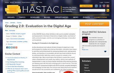 http://hastac.org/forums/hastac-scholars-discussions/grading-20-evaluation-digital-age