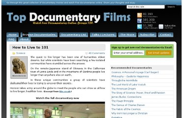 http://topdocumentaryfilms.com/how-to-live-to-101/