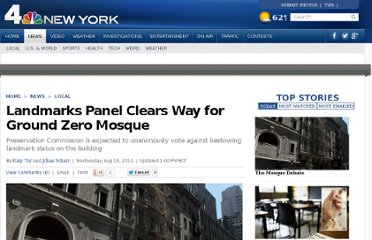http://www.nbcnewyork.com/news/local/Key-Vote-on-Ground-Zero-Mosque-Today-99824274.html