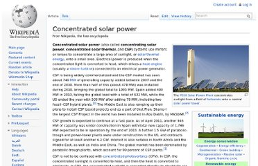 http://en.wikipedia.org/wiki/Concentrated_solar_power