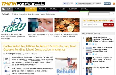 http://thinkprogress.org/economy/2011/09/12/317046/cantor-billions-iraq-schools/