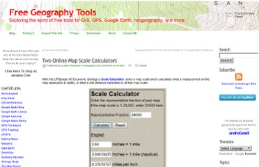 http://freegeographytools.com/2010/two-online-map-scale-calculators